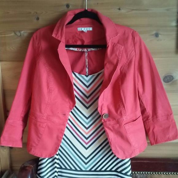 CAbi Jackets & Blazers - Coral CAbi Jacket